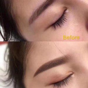 Hair Line Eye brow